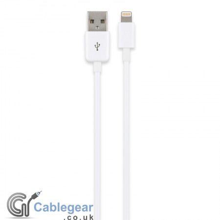 USB Sync & Charging Cable for iPod, iPhone, iPad (Lightning Connector)