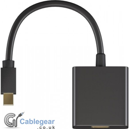 Mini DisplayPort to HDMI Adapter 1.2 (4K Ultra HD)