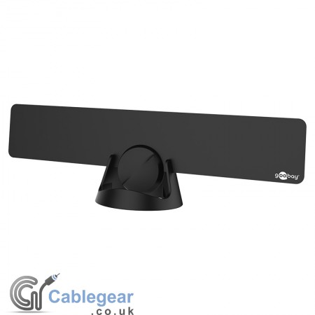 Active Full HD DVB-T Ultra-Flat Indoor Antenna with 4G/LTE Filter