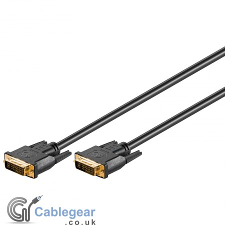 DVI Dual-Link Full HD Cable 2 x 24+5 Plugs