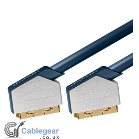 SCART cable 21-pin fully wired RGB
