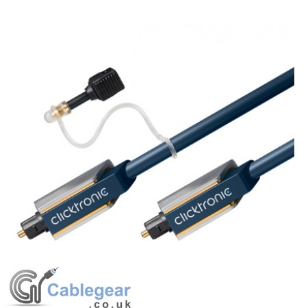 Premium Optical Toslink Cable (with 3.5mm Adapter)