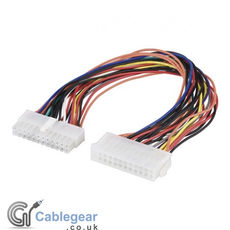 Mainboard power extension cable 24 pin