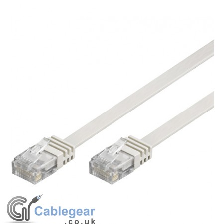 Flat CAT 5e UTP Ethernet Cable