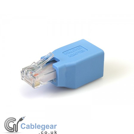 Cisco Console Rollover Adapter for RJ45 Ethernet Cable