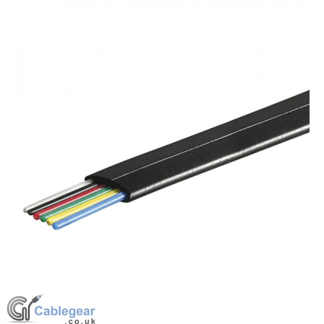 Best Buy 6 Core Telephone Cable Flat 100m In Uk Online