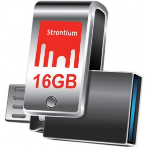 NITRO Plus OTG and USB 3.0 flash drive with 16 GB