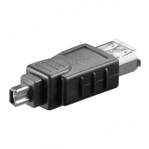 FireWire Adapter 6-pin socket - 4-pin plug