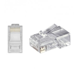 RJ45 Modular Plug 8P8C for round cable