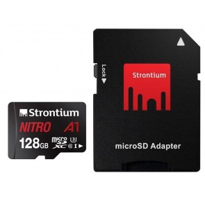 Micro SD A1 128 GB with SD Card Adapter