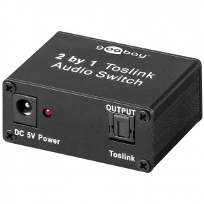 Toslink Audio Switch 2in/1out