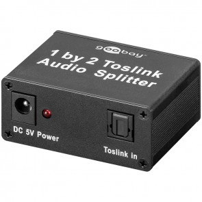 Toslink Audio Splitter 1in/2out
