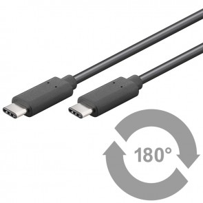 USB 3.1 SuperSpeed+ Cable - Type C to USB 3.0 C connector