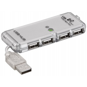 USB 2.0 Hi Speed HUB 4 Port