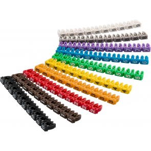 Cable marker clips 'Digits 0–9'