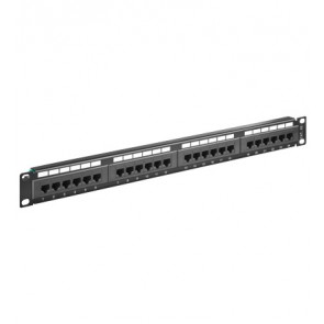 24-Port Un-shielded CAT 5e Patch Panel