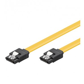 SATA Cable 6GBs straight L-plugs with lock
