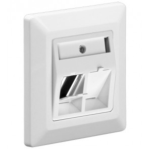 Double Keystone Faceplate