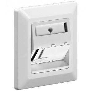 Triple Keystone Faceplate